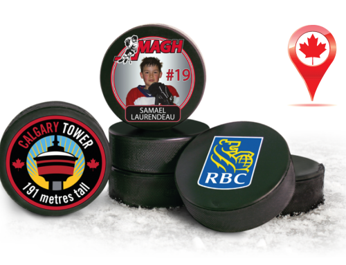 Official canadian puck